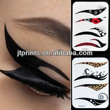fashion eyebrows cute eye fake tattoo for eye tattoo