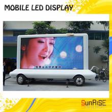 shenzhen manufacturer in usa market 2015 3G controller DIP P10,p12,p16,p20 high definition Truck Mobile Led Display