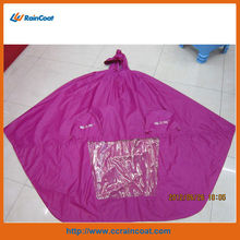 2013 new fashionable riding raincoat poncho, motorcycle and electric bike poncho raincoat