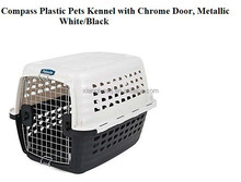 Plastic Kennel Pets Dog Cat Bunny Door travel trunk car carrier transport NEW