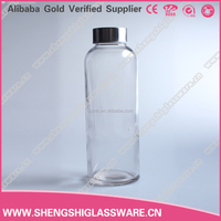460ml wholesale beverage borosilicate glass bottles for mineral water