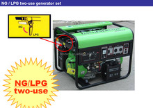 Long lifespan biogas generator with competitive factory price