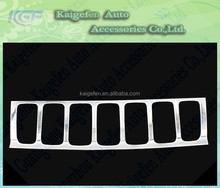 Front Grille Cover for Jeep Compass 2011+ Chrome Accessories