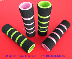 foam handles grip for bicycle/suitable bicycle handles grip with length 112 120 130 140 180 200 220 2400MM/make model bicycle