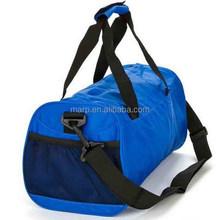 Fancy sports travel duffel gym bag with shoulder strap