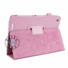 Manufacturer Slim Book Cover Stitching Magnet Leather Case for Acer Iconia A1-830