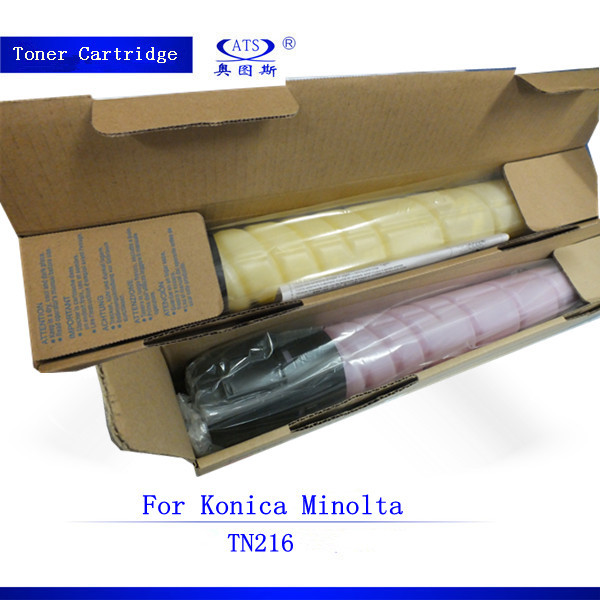 couleur copieur cartouche de toner compatible pour konica minolta tn216 bizhub c220 c280 c360. Black Bedroom Furniture Sets. Home Design Ideas