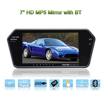 Top rate 7inch tft lcd color monitor for car with Bluetooth full format