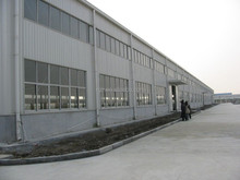 prefabricated low cost sheet metal workshop