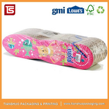 fashion hot selling china cat scratcher lounge with catnip and catmint