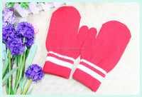 Glove factory wholesale custom christmas knit mitten