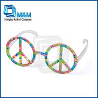 2014/2015 party glasses, custom peace sign sunglasses