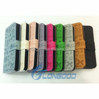 Custom Flip Case for mobile phone case,Flip leather phone case for Iphone5