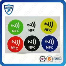 RFID/NFC tag sticker printed logo 13.56MHZ