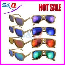 hot sale small MOQ best price wooden sunglasses yiwu