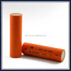 high capacity mnke 18650 3.7v 1500mah battery mnke 18650 battery for e-cigarette