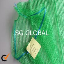 fruit and vegetables packing hdpe raschel mesh net bag for vegetables