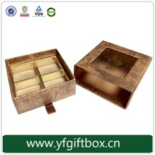OEM chocolate box custom order accept personalized design own chocolate packaging box