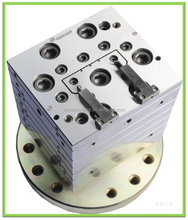 PVC Plastic wiring duct extrusion tooling for trunking profiles