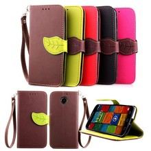 Flip Leaf Magnetic Wallet PU Leather Card Stand Case Cover Skin for Motorola Moto X+1