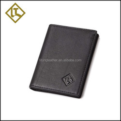 Natural leather high quality business card holder