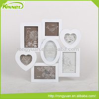 Hot style white plastic frame low price different types photo frame