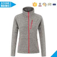 China winter sports blank polar fleece jacket women--Professional clothing manufacturer
