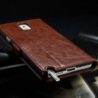 Classic universal mobile case/shell accessories of unique phone case for samsung note 3 with slots and stander