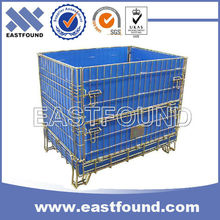 China Supplier Galvanized Storage Stackable Wire Steel Crate