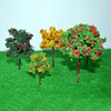 LR-60/30 building materials mini green Iron Wire Model Tree mini wire metal tree
