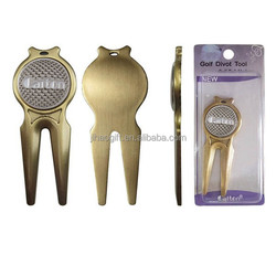 China Promotional Golf Accessories Golf Divot Repair Tool