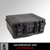 Plastic rugged equipment case 538*488*244mm