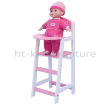 """21.8x27x(H)53cm E1 MDF Easy Assembly 18 Inches Doll Chair, Hot Sale Wood Doll Chair For 18"""" American Girls"""