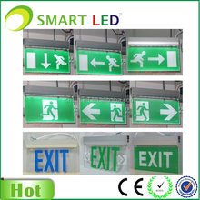 exit door signs SMARTLED SE-0301 series CE ROHS 3 years warranty led acrylic exit sign led emergency exit sign