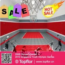 Indoor basketball plsatic tiles portable interlock plastic tiles for basketball