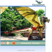 Attractive Animated Walking With Dinosaur Model