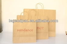 China supplier cheap paper bag packaging for shoes