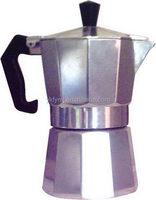 Best quality professional aluminum die casting moka coffee pot
