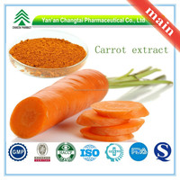 Hot Sale GMP Certificate 100% Pure Natural carrot extract beta-carotene
