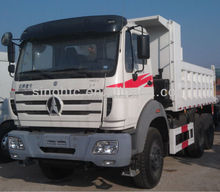 BEIBEN 10 wheeler POWER STAR tipper trucks sales in Africa