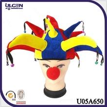 sombrero <span class=keywords><strong>para</strong></span> fiesta de Halloween <span class=keywords><strong>para</strong></span> adultos y niños sombrero payaso