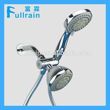 fullrain de doble cabezal de la ducha con ducha de agua reverter