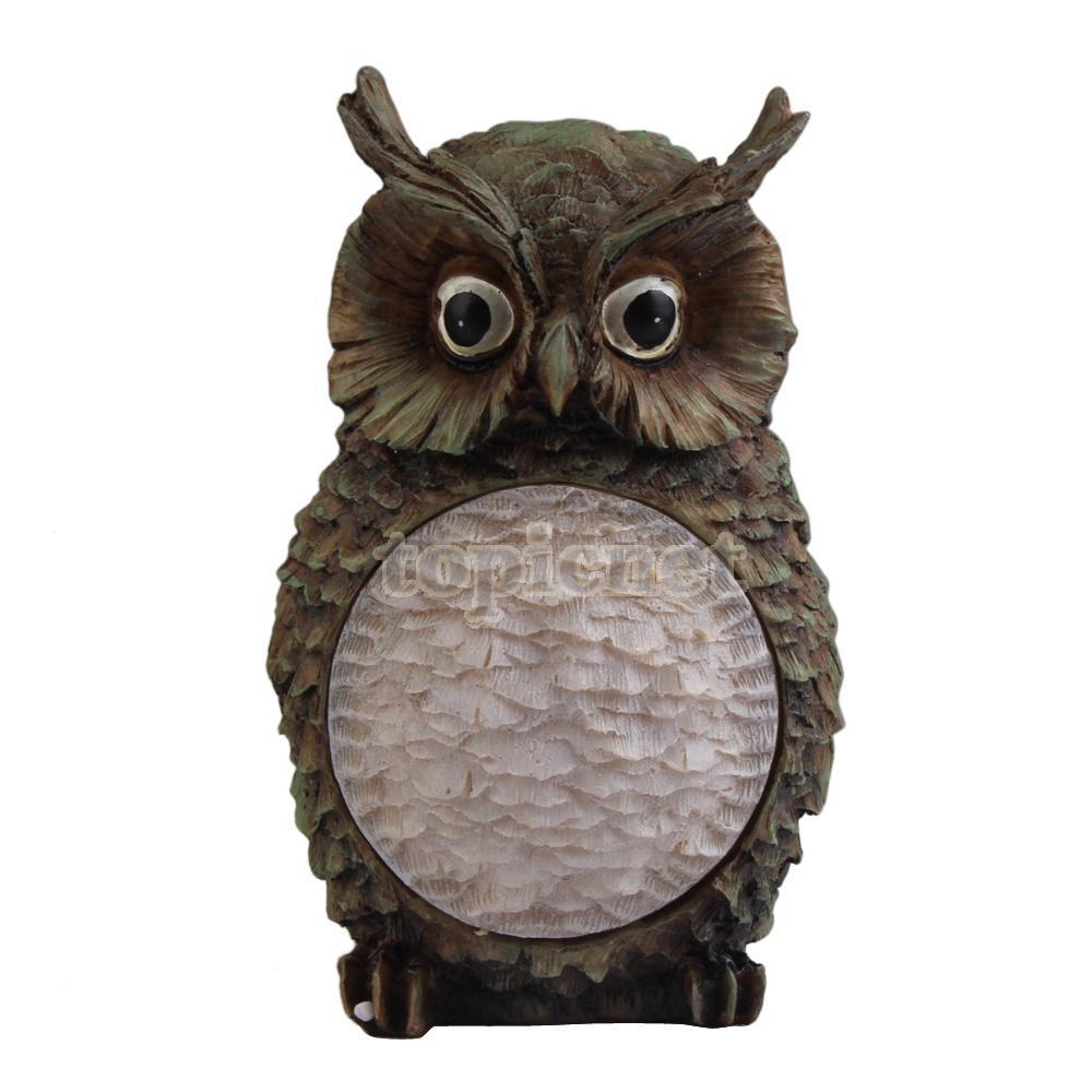 Aslt New Solar Owl Light Garden Yard Decor Bird Outdoor Light U2026 #5126 Amelia