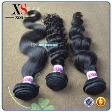 Good feedback brazilian body wave hair brazilian hair weave ponytail