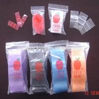wholesale cheap clear custom mini zip lock plastic bag