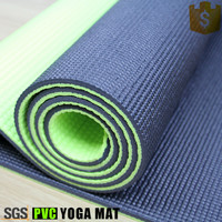 Fitness two toned wide yoga mat