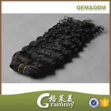 Wholesale high quality grade 7a virgin indian deep curly hair