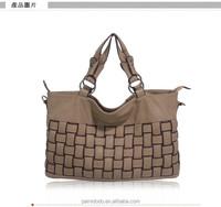 2015 DESIGNER LARGE WOVEN BAG CHINESE WOMEN HANDBAG