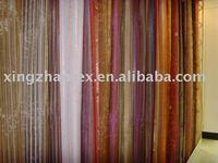 Stripe organza fabric for curtain