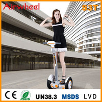 2015 new arrival Airwheel two-wheel self balancing chinese motor scooters for adults